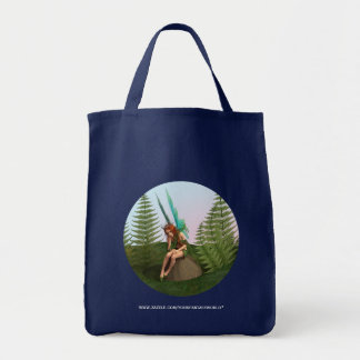 Thoughtful Fairy Tote Bag