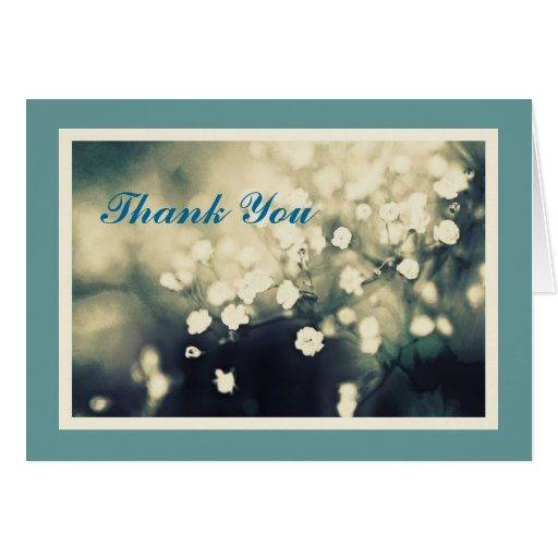 Thoughtful Gift Thank You Card Template!