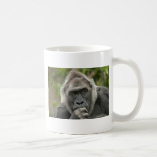 Thoughtful Gorilla Coffee Mug