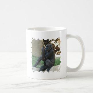 Thoughtful Gorilla Coffee Mug