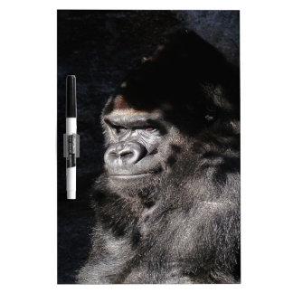 Thoughtful  Gorilla Dry Erase Board