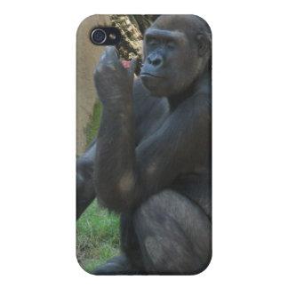 Thoughtful Gorilla iPhone 4 Case