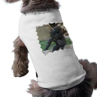 Thoughtful Gorilla Pet Shirt