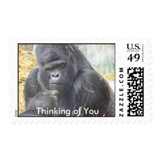 Thoughtful Gorilla Postage