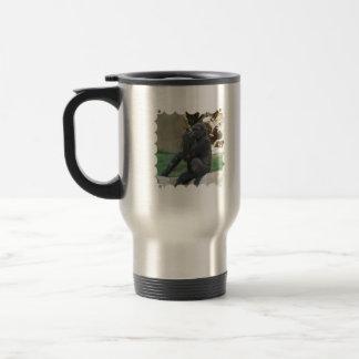 Thoughtful Gorilla Travel Mug