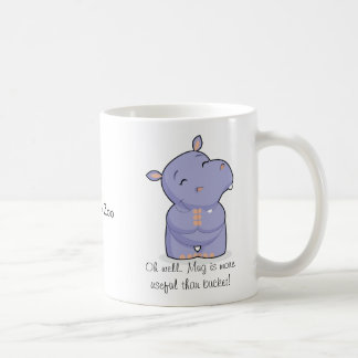 Thoughtful & Happy Hippo Mug