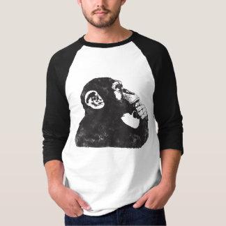 Thoughtful Monkey T Shirt