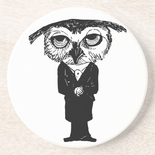 Thoughtful Owl Coaster