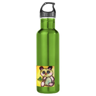 Thoughtful Panda Stainless Steel Water Bottle