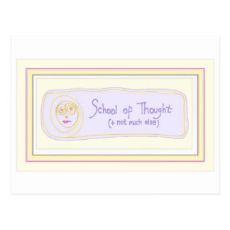 'Thoughtful' Postcard