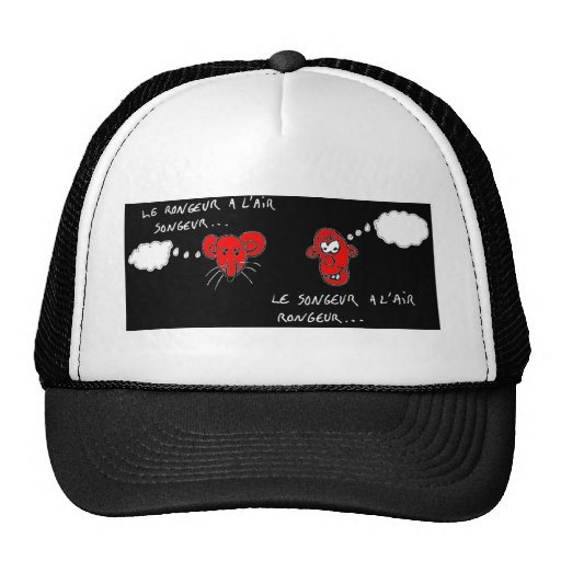 Thoughtful rodent - François City Trucker Hat