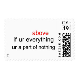 Thoughtful stamp