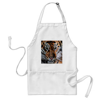 Thoughtful Tiger Adult Apron