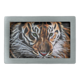 Thoughtful Tiger Belt Buckle