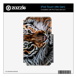Thoughtful Tiger iPod Touch 4G Skin