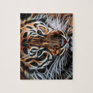 Thoughtful Tiger Jigsaw Puzzle