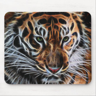 Thoughtful Tiger Mouse Pad