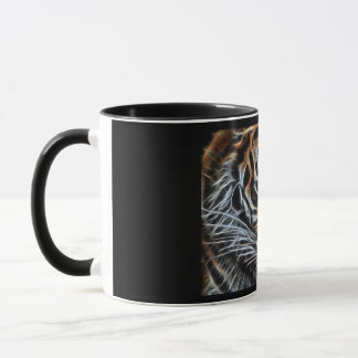 Thoughtful Tiger Mug