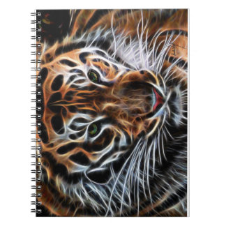 Thoughtful Tiger Notebook