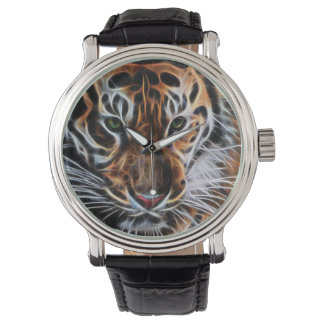 Thoughtful Tiger Wristwatch