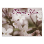 Thoughtfulness Greeting Card Thank You Lilac Greeting Cards