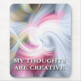 Thoughts-Affirmations-motivating mousepads