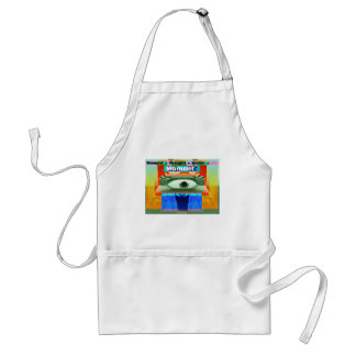 Thoughts and Actions equal Moments Adult Apron