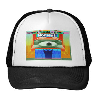 Thoughts and Actions equal Moments Trucker Hat