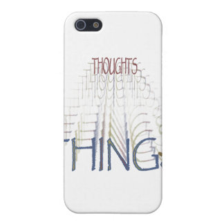 Thoughts become things case for iPhone SE/5/5s
