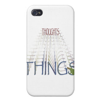Thoughts become things iPhone 4 covers
