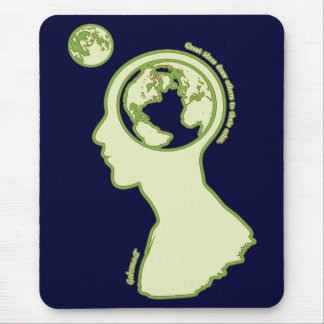 Thoughts in orbit mouse pad