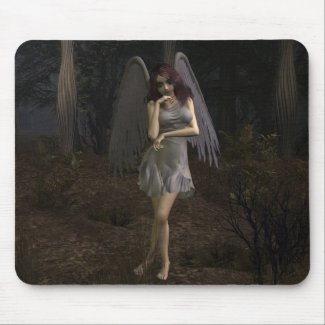 Thoughts of a Dark Angel mousepad