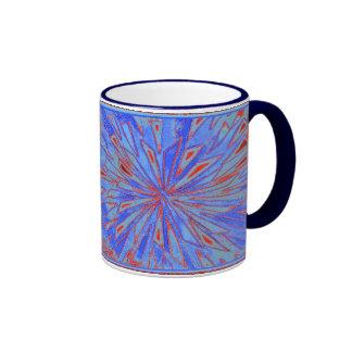 thoughts of blue ringer mug