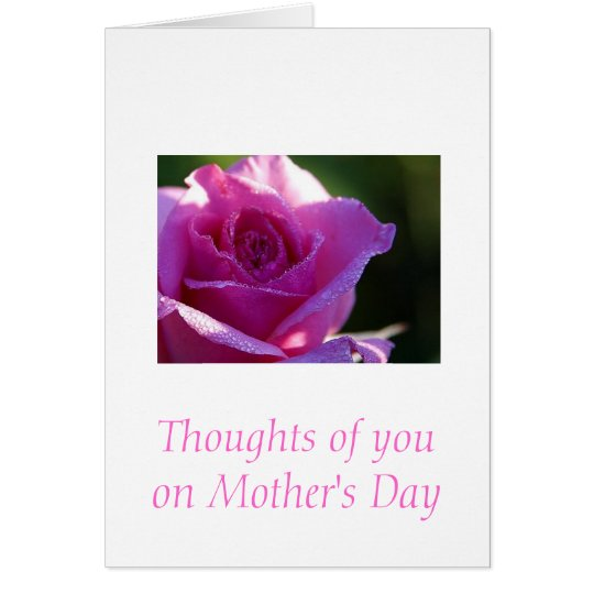 Thoughts of you card