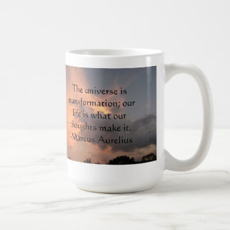 Thoughts quote inspirational mug