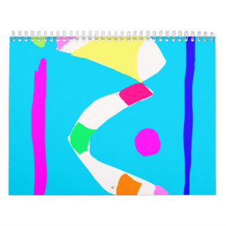 Thoughts River Bridge Corn Candies Pocket Calendars
