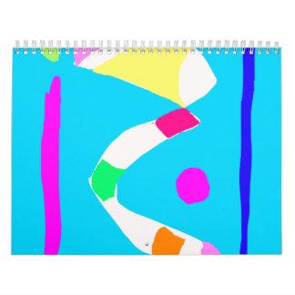 Thoughts River Bridge Corn Candies Pocket Calendar
