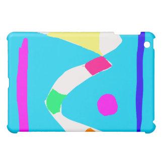 Thoughts River Bridge Corn Candies Pocket iPad Mini Case