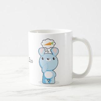 Thoughtul & Hungry Bunny Mug