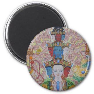 Thousand-Armed Avalokiteshvara Magnet