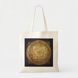 Thousand-Armed Avalokiteshvara Mandala Ornament Budget Tote Bag