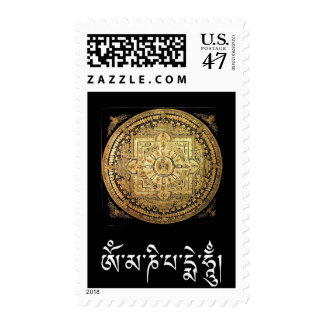 Thousand-Armed Avalokiteshvara Mandala Stamp