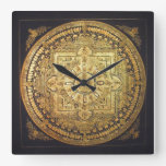 Thousand-Armed Avalokiteshvara Mandala Wall Clock