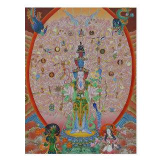 Thousand-Armed Avalokiteshvara Postcard