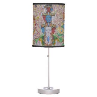 Thousand-Armed Avalokiteshvara Table Lamp