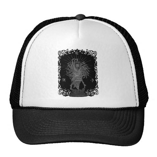 Thousand Armed Goddess of Mercy shie background at Hats