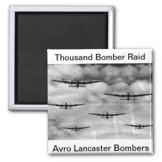 Thousand Bomber Raid Magnet
