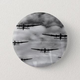 Thousand Bomber Raid Pinback Button
