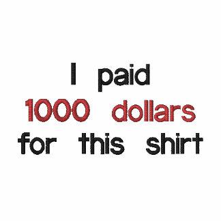 Thousand Dollar Shirt Polo Shirt