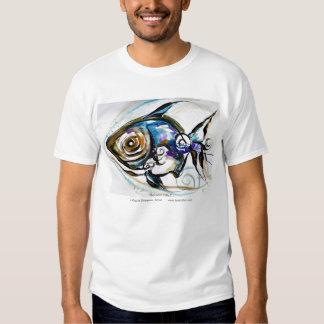Thousand Fish 7 abstract FISH Design by VinnyFish Shirt
